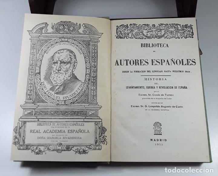 Enciclopedias de segunda mano: BIBLIOTECA DE AUTORES ESPAÑOLES. 4 TOMOS. VARIOS AUTORES. MADRID. 1953/57. - Foto 5 - 194860006