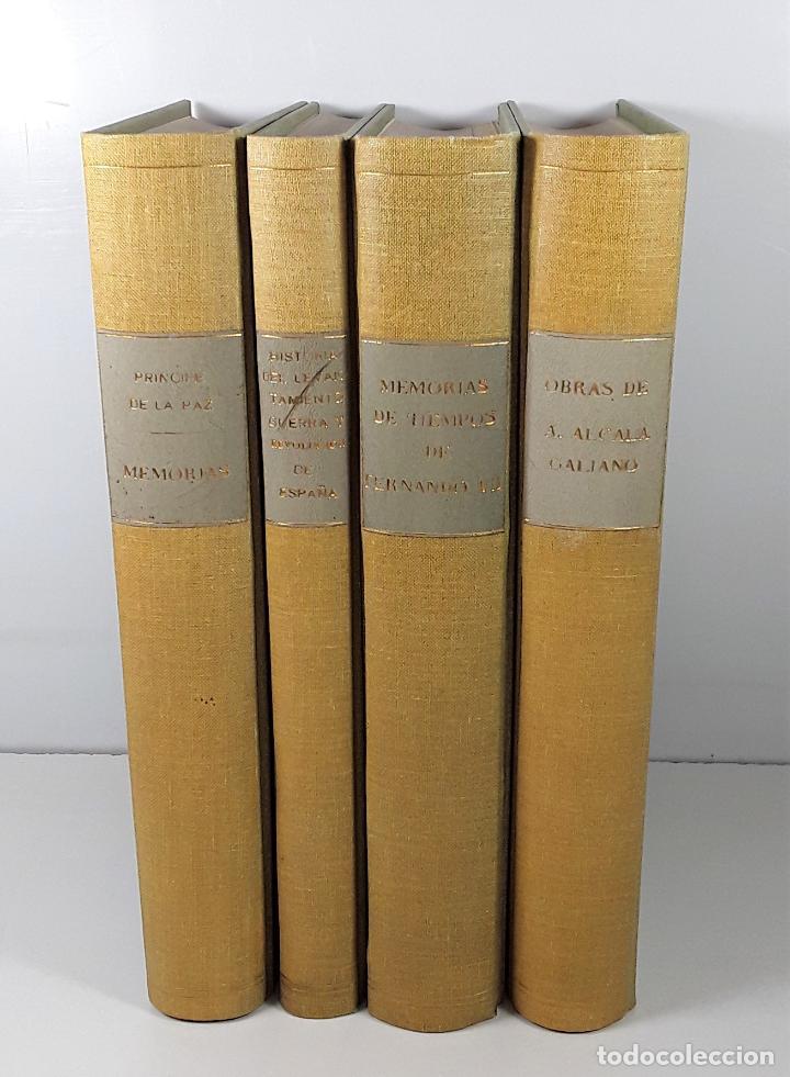 BIBLIOTECA DE AUTORES ESPAÑOLES. 4 TOMOS. VARIOS AUTORES. MADRID. 1953/57. (Libros de Segunda Mano - Enciclopedias)
