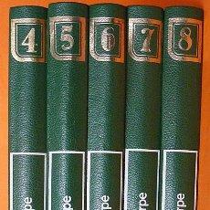 Enciclopedias de segunda mano: GRAN ENCICLOPEDIA PUNTO Y COSTURA:GANCHILLO, BORDADO Y TRABAJOS MANUALES-TOMOS 4-5-6-7-8 -SARPE-1979. Lote 194906411