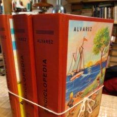 Enciclopedias de segunda mano: ENCICLOPEDIA. ALVAREZ. EDAF. 3 TOMOS. Lote 194929937