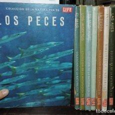 Enciclopedias de segunda mano: COLECCIÓN DE LA NATURALEZA DE LIFE 9 TOMOS. BEISER, ARTHUR. ED. OFFSET MULTICOLOR. 1962. Lote 195063771
