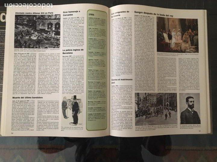 Enciclopedias de segunda mano: CRÓNICA PLAZA&JANES 6 VOLÚMENES - Foto 3 - 195149138