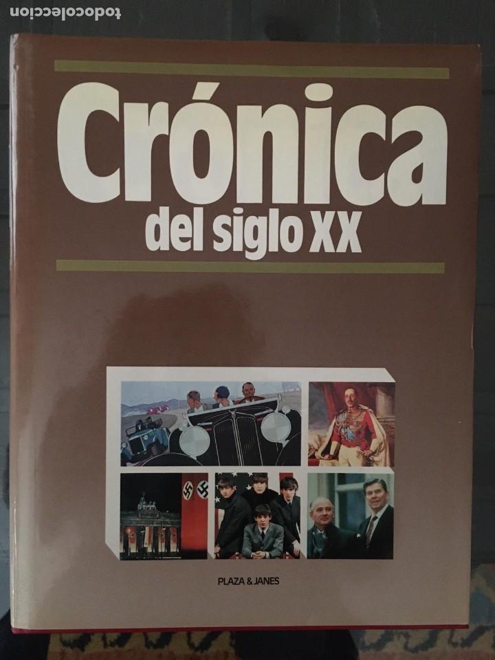 Enciclopedias de segunda mano: CRÓNICA PLAZA&JANES 6 VOLÚMENES - Foto 4 - 195149138