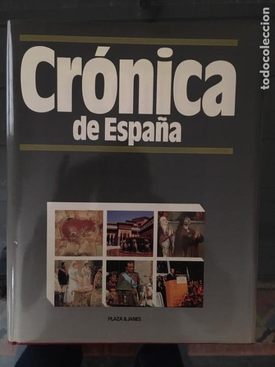 Enciclopedias de segunda mano: CRÓNICA PLAZA&JANES 6 VOLÚMENES - Foto 5 - 195149138