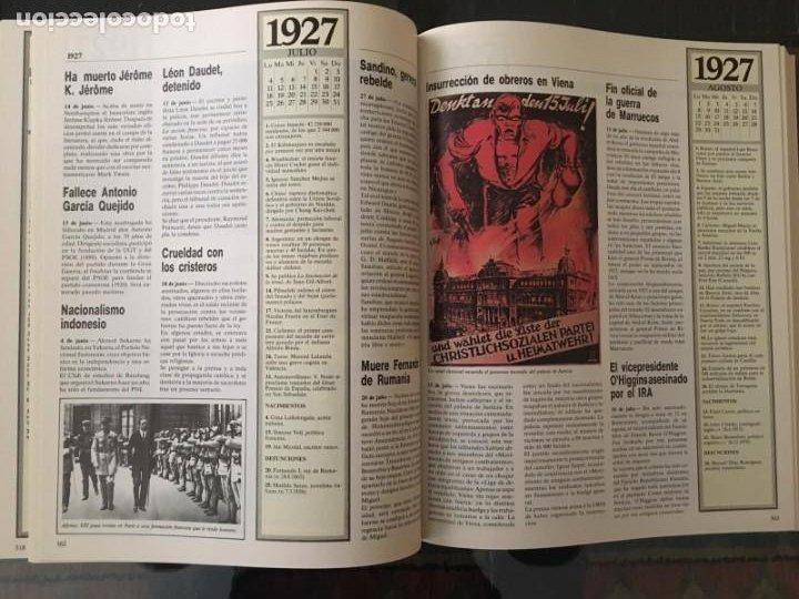 Enciclopedias de segunda mano: CRÓNICA PLAZA&JANES 6 VOLÚMENES - Foto 6 - 195149138