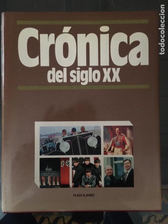 Enciclopedias de segunda mano: CRÓNICA PLAZA&JANES 6 VOLÚMENES - Foto 7 - 195149138