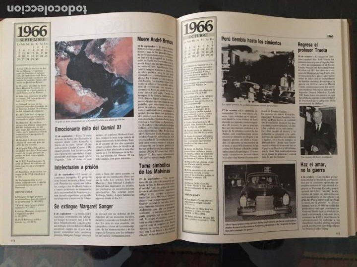 Enciclopedias de segunda mano: CRÓNICA PLAZA&JANES 6 VOLÚMENES - Foto 8 - 195149138