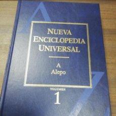 Enciclopedias de segunda mano: NUEVA ENCICLOPEDIA UNIVERSAL. VOLUMEN 1. 2005. DURVAN, S. A. DE EDICIONES.. Lote 195170520