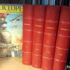Enciclopedias de segunda mano: ENCICLOPEDIA ESTUDIANTIL. 209 FASCICULOS. COMPLETA, (CODEX, 1962).. Lote 195239480