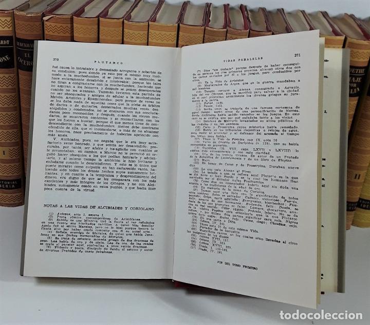 Enciclopedias de segunda mano: OBRAS MAESTRAS. 28 EJEMPLARES. VARIOS AUTORES. EDIT. IBERIA. BARCELONA. 1946/1972. - Foto 6 - 195257331