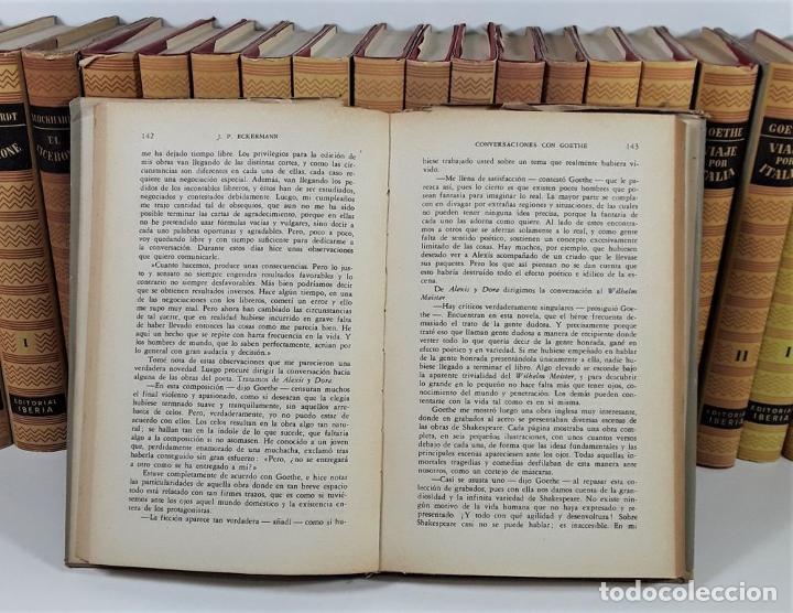 Enciclopedias de segunda mano: OBRAS MAESTRAS. 28 EJEMPLARES. VARIOS AUTORES. EDIT. IBERIA. BARCELONA. 1946/1972. - Foto 8 - 195257331