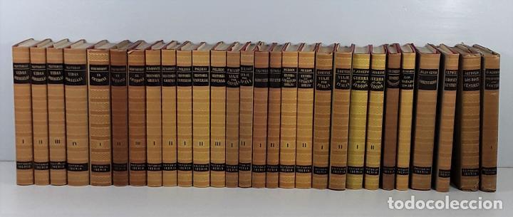 OBRAS MAESTRAS. 28 EJEMPLARES. VARIOS AUTORES. EDIT. IBERIA. BARCELONA. 1946/1972. (Libros de Segunda Mano - Enciclopedias)