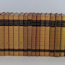 Enciclopedias de segunda mano: OBRAS MAESTRAS. 28 EJEMPLARES. VARIOS AUTORES. EDIT. IBERIA. BARCELONA. 1946/1972.. Lote 195257331