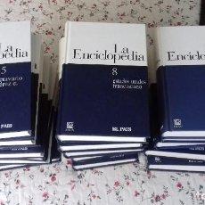 Enciclopedias de segunda mano: ENCICLOPEDIA EL PAIS COMPLETA - 19 TOMOS. Lote 195275398