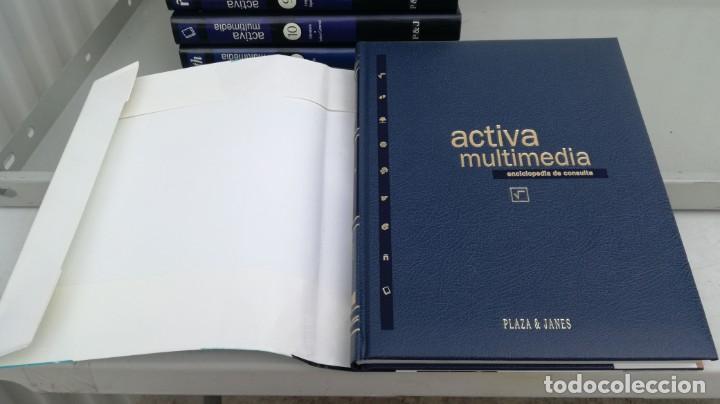 Enciclopedias de segunda mano: Enciclopedia de Consulta Activa Multimedia 12T (Completa) Plaza Janés - VER FOTOS - Foto 5 - 195512591