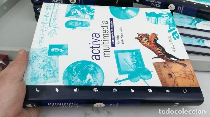 Enciclopedias de segunda mano: Enciclopedia de Consulta Activa Multimedia 12T (Completa) Plaza Janés - VER FOTOS - Foto 25 - 195512591