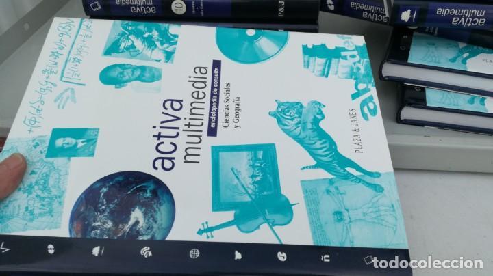 Enciclopedias de segunda mano: Enciclopedia de Consulta Activa Multimedia 12T (Completa) Plaza Janés - VER FOTOS - Foto 29 - 195512591