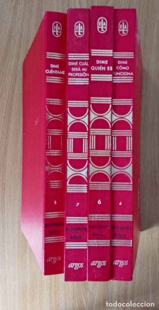 Enciclopedias de segunda mano: ENCICLOPEDIA BÁSICA- ED ARGOS 1970- 1972 - 4 VOLUMENES - CARTONÉ - Foto 3 - 195542653