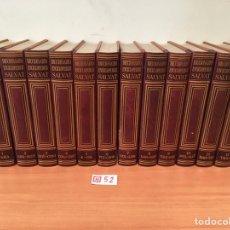 Enciclopedias de segunda mano: DICCIONARIO ENCICLOPÉDICO SALVAT. Lote 196013021