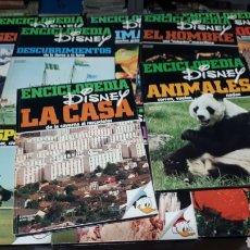 Enciclopedias de segunda mano: ENCICLOPEDIA DISNEY COMPLETA EDICIONES MONTENA 10 VOLUMENES. Lote 196111488