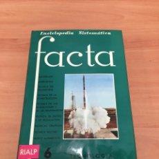 Enciclopedias de segunda mano: FACTA. Lote 197113530