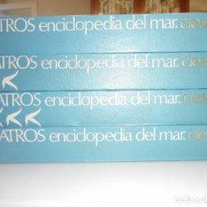 Enciclopedias de segunda mano: VV.AA ALBATROS ENCICLOPEDIA DEL MAR (4 TOMOS) Y99362W . Lote 197420897