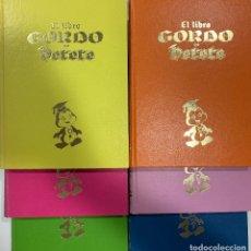 Livros em segunda mão: EL LIBRO GORDO DE PETETE. COLECCIÓN COMPLETA (6 TOMOS). Lote 197586232