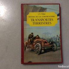 Enciclopedias de segunda mano: TRANSPORTES TERRESTRES. Lote 197691440