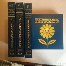 Enciclopedias de segunda mano: ENCICLOPEDIA INFANTIL COMO CUIDAR A LOS HIJOS,EL LIBRO DE DIOS,BIBLIOTECA CULTURAL,CARROGGIO,4 TOMOS. Lote 198513865