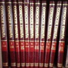 Enciclopedias de segunda mano: CONOCER ESPAÑA SALVAT. Lote 198561287