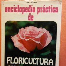 Enciclopedias de segunda mano: ENCICLOPEDIA PRÁCTICA DE FLORICULTURA Y JARDINERÍA. EDITORIAL DE VECCHI. Lote 199743992