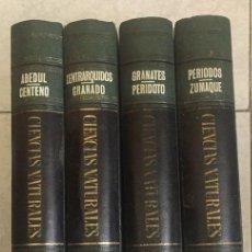 Enciclopedias de segunda mano: ENCICLOPEDIA CIENCIAS NATURALES - BURGUERA 4 TOMOS - MADRID, 1962. Lote 199942295