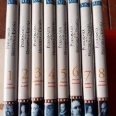 Enciclopedias de segunda mano: LOTE DE LIBROS, PERSONAJES DE LA HISTORIA DE ESPAÑA. Lote 200069483