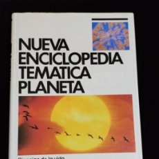 Enciclopedias de segunda mano: NUEVA ENCICLOPEDIA TEMATICA PLANETA, AÑO 1989. TOMO 2.- CIENCIAS DE LA VIDA.. Lote 200071007