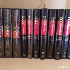 Enciclopedias de segunda mano: ENCICLOPEDIA DICCIONARIO LAROUSSE 2000. 16 TOMOS Y COPILOTO. Lote 200073716