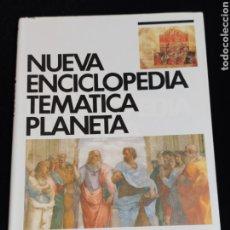 Enciclopedias de segunda mano: NUEVA ENCICLOPEDIA TEMATICA PLANETA, AÑO 1989. TOMO 10.-LENGUAJE,PENSAMIENTO.. Lote 200075211