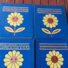 Enciclopedias de segunda mano: 4 TOMOS DE ENCICLOPEDIA INFANTIL AÑO 1974,NO ESTÁ COMPLETA. Lote 200271080