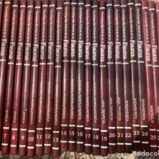 Enciclopedias de segunda mano: ENCICLOPEDIA SALVAT DE LA FAUNA (31 TOMOS). Lote 200335846