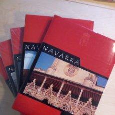 Enciclopedias de segunda mano: NAVARRA. 5 TOMOS. EDITORIAL OSTOA. . Lote 200375038