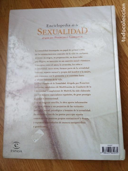Enciclopedias de segunda mano: Enciclopedia de la sexualidad, Francisco Labrador - Foto 2 - 201486612