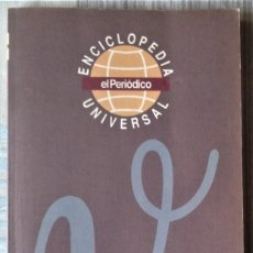 Enciclopedias de segunda mano: ENCICLOPEDIA UNIVERSAL. DE EL PERIODICO. Lote 202005791