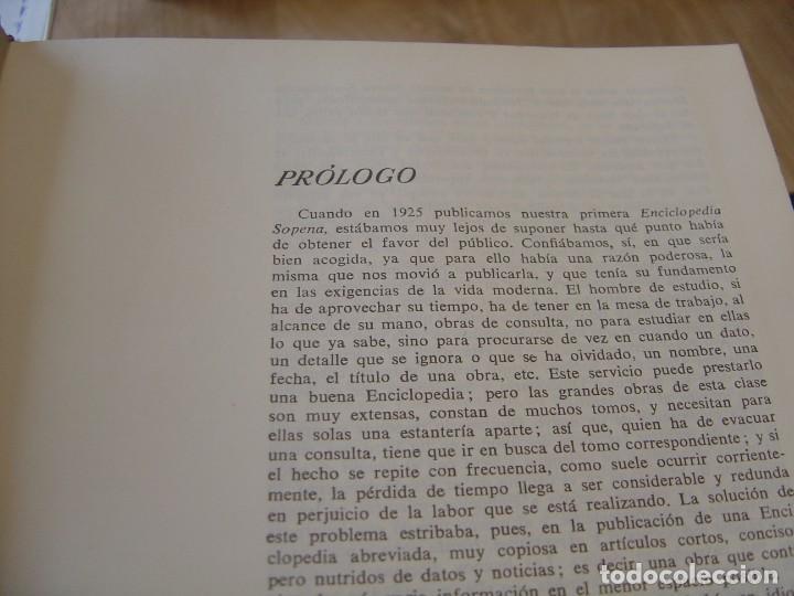 Enciclopedias de segunda mano: ENCICLOPEDIA UNIVERSAL SOPENA. COMPLETA 10 TOMOS. 1963. EXCELENTE CONSERVACIÓN. - Foto 9 - 202332866