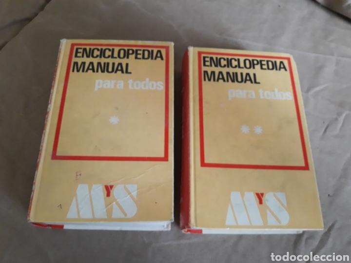 Enciclopedias de segunda mano: ENCICLOPEDIA MANUAL PARA TODOS. MONTANER Y SIMON - Foto 2 - 202644747