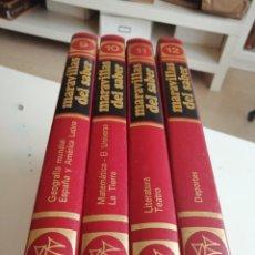 Enciclopedias de segunda mano: TRAS LOTE DE 4 LIBROS MARAVILLAS DEL SABER CREDSA CONSULTOR DIDÁCTICO VER FOTOS. Lote 202900210