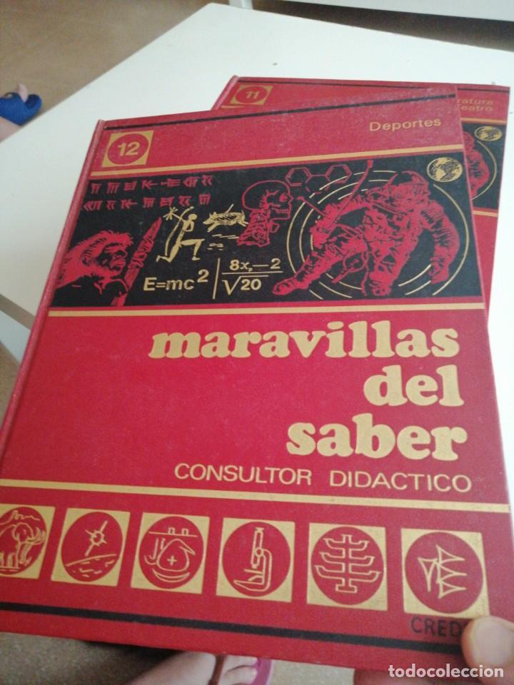 Enciclopedias de segunda mano: Tras LOTE DE 4 LIBROS MARAVILLAS DEL SABER CREDSA CONSULTOR DIDÁCTICO VER FOTOS - Foto 2 - 202900210