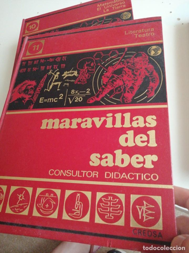 Enciclopedias de segunda mano: Tras LOTE DE 4 LIBROS MARAVILLAS DEL SABER CREDSA CONSULTOR DIDÁCTICO VER FOTOS - Foto 3 - 202900210