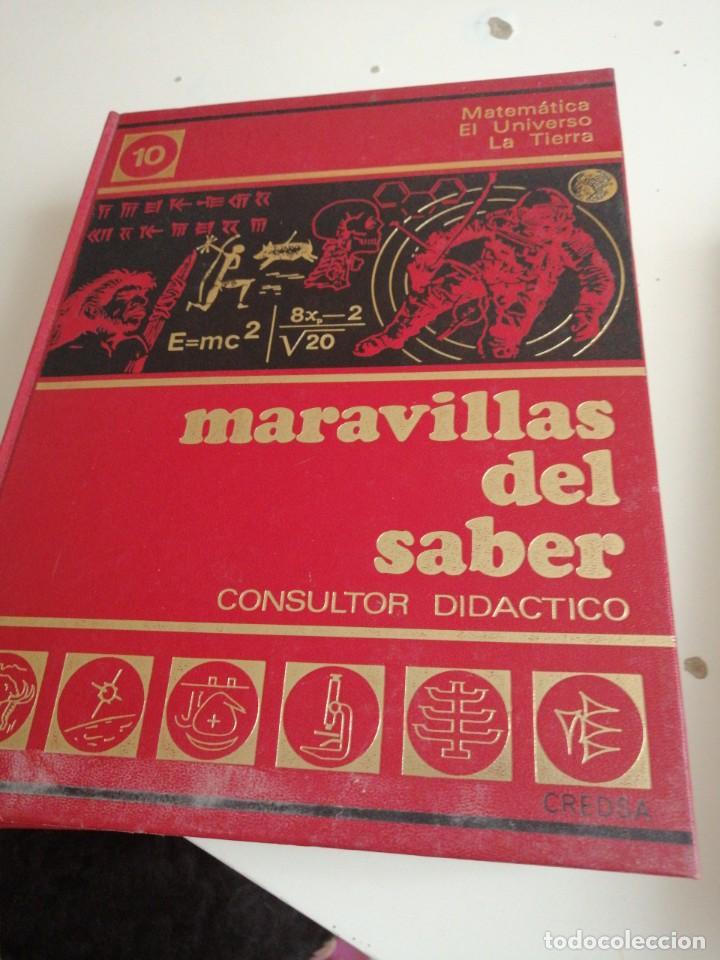 Enciclopedias de segunda mano: Tras LOTE DE 4 LIBROS MARAVILLAS DEL SABER CREDSA CONSULTOR DIDÁCTICO VER FOTOS - Foto 4 - 202900210