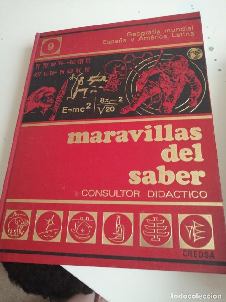 Enciclopedias de segunda mano: Tras LOTE DE 4 LIBROS MARAVILLAS DEL SABER CREDSA CONSULTOR DIDÁCTICO VER FOTOS - Foto 5 - 202900210