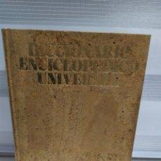 Enciclopedias de segunda mano: DICCIONARIO ENCICLOPÉDICO UNIVERSAL. CREDITO BIBLIOTECARIO, GALARDONADO AGUILA DE ORO , TAPAS CORCHO. Lote 203163937