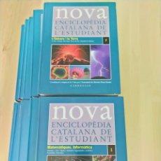 Enciclopedias de segunda mano: NOVA ENCICLOPÈDIA CATALANA DE L'ESTUDIANT CARROGGIO. Lote 203165712